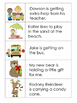 Picture and Sentence Match Up Cards:  Set 3--25 Pairs for