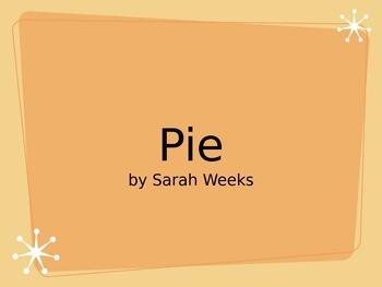 Pie by Sarah Weeks Quiz