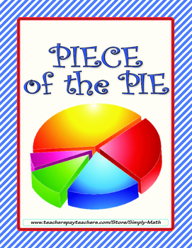 Piece of the Pie - Graph with a Pie Chart FREEBIE