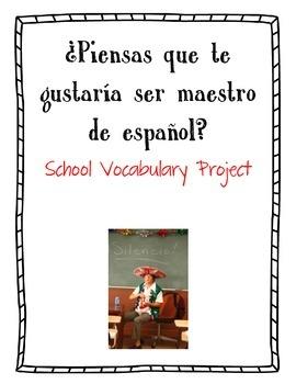¿Piensas que te gustaría ser maestro de español? - School