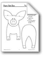 Pig Paper Tube Animal