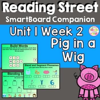 Pig in a Wig Common Core SmartBoard Companion 1st First Grade