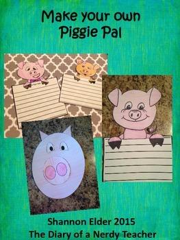 Piggie Pal Craftivity