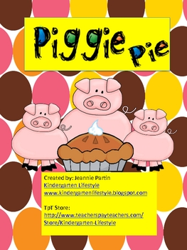 Piggie Pie - short 'i' word families