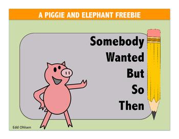 Piggie and Elephant Mo Willems Freebie