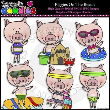 Piggies On The Beach