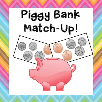 Money Game: Piggy Bank Coin Match Game!