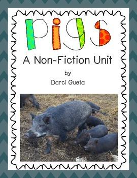 Pigs:  A Non-Fiction Unit
