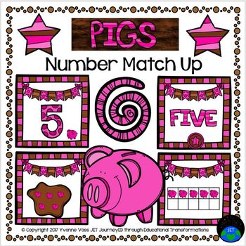 Pigs Number Match Up