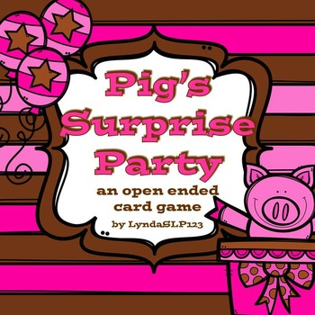 Pig's Surprise Party (open ended card game)