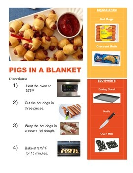 Pigs in a Blanket Adapted Recipe!