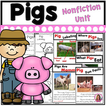 Pigs on the Farm (A Nonfiction Literacy Unit about Pigs)