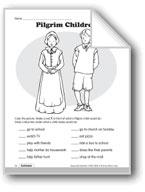 Pilgrim Children, Turkeys, and Being Thankful