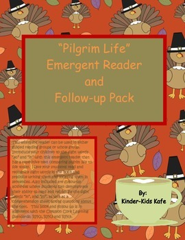 Pilgrim Life Sight Word Emergent Reader and Follow up Pack