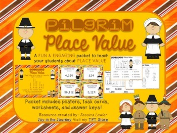 Pilgrim Place Value Activity Packet