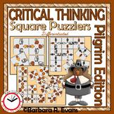 CRITICAL THINKING: Pilgrim Square Puzzlers