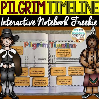 Pilgrim Timeline: Interactive Notebook Freebie