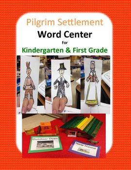 Word Work Center Pilgrims