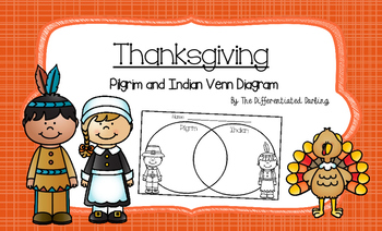 Pilgrim and Indian Venn Diagram