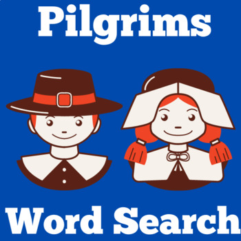 Pilgrims Activity | Pilgrims Unit | Pilgrims Word Search