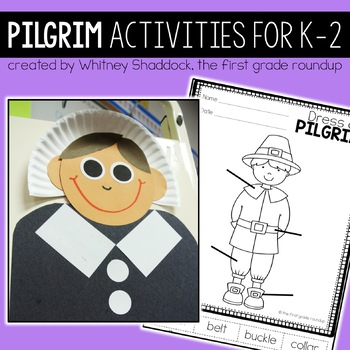 Pilgrims Booklet and Activities