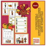 Pilgrims and Native Americans Printable