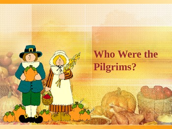 Pilgrims and Their Voyage