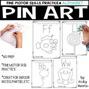 Pin Art set 3 ( alphabet )