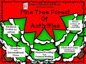 Pine Tree Forest of Activities - Kiddos Connect All-Year t