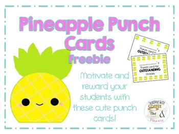 Pineapple Punch Cards