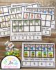 Pineapple Ten Frame Task Cards Making Ten with Beach Frien