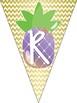 Pineapple Theme Classroom Reading Banner