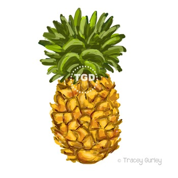 Pineapple - pineapple clip art, pineapple Printable Tracey