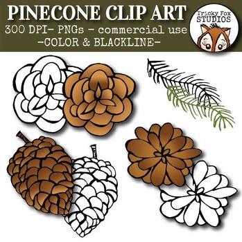Pinecone Clip Art