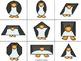 Pingüinos de figuras – 2D Shapes Math Centers for Bilingua