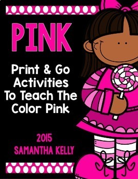 The Color Pink Printables