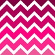 Pink Chevron Digital Paper Pack: Olivia