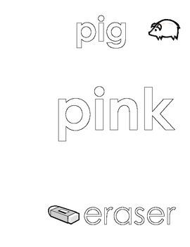 Pink Color Sheet