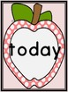 Pink Dot Apple Dolch Third Grade Sight Word Flashcards and