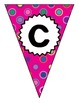 Pink Polka Dot Multi Welcome Back Banner