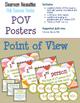 Pink Raccoon Themed ELA Essentials Poster BUNDLE + SPECIAL