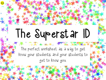 FIRST DAY OF SCHOOL! The Superstar ID