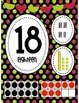 Pink and Green Polka Dot Numbers 1-20