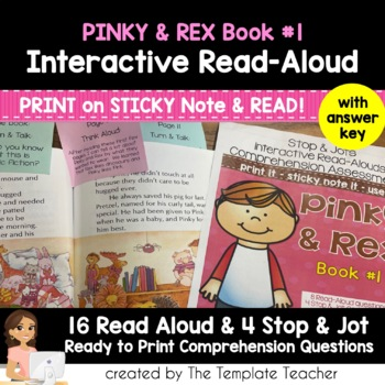 Reading Comprehension and Interactive Read Aloud with Pink