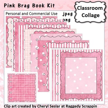 Pink Book Template - personal & commercial use