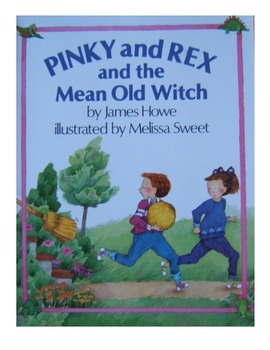 Pinky and Rex and the Mean Old Witch, comprehension questi
