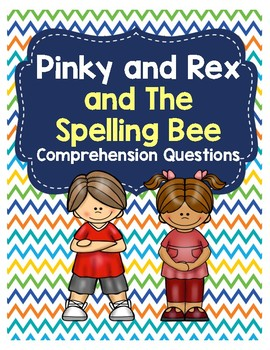 Pinky and Rex and the Spelling Bee