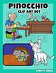 Pinocchio Mini Clip Art Set