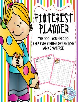 Pinterest Board Planner Organizer