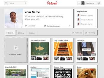 Pinterest PowerPoint Template